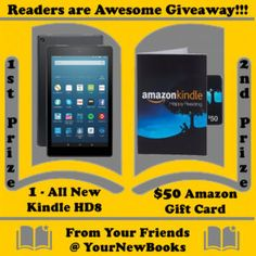 Win an Amazon Kindle HD8 or a $50 Amazon Gift card! (01/30) {US CA} #giveaway #sweeps #win http://time4giveaways.com/2017/01/26/win-an-amazon-kindle-hd8-or-a-50-amazon-gift-card-0130-us-ca-au-uk-nz-giveaway-sweeps-win/