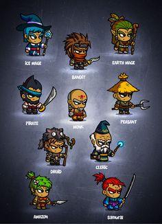 RPG Box II Characters