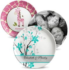 Wanna add that special touch to your kitchen area? Achieve that with 6 custom plates for just $99.99 http://dimagec.com/