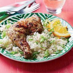 Jerk Chicken with Coconut Rice Recipe
