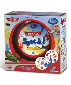 Look at this Spot it! Disney Planes Alphabet Game on #zulily today!