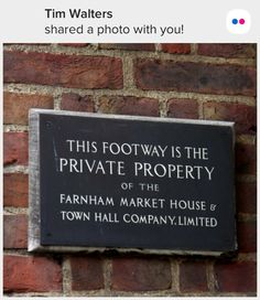 Private Property, Town Hall, House, Home, Haus, Houses