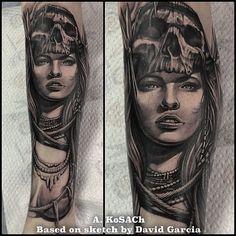 "@alexandr_kosach's photo: ""Based on sketch by David García #alexandrkosach #kosachtattoo #scorpiontattoohall #tatts #tattoo #tattoos #tattooed #tattooer #tattooart #tattooing #tattoosofig #tattooartist #tattoostudio #tattooinrussia #tattoooftheday #tattooistartmag #besttattoo #besttattoos #blackandgraytattoo #amazingtattoos #superbtattoos #cooltattoo #crazytattoo #ink #inked #realistictattoo #skull #portraittattoo #superb_tattoos #moscow"""