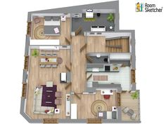 What do real estate buyers look for in a home? Potential. Help them to see the potential of your homes and properties quickly and easily with 3D Floor Plans. http://www.roomsketcher.com/features/3d-floor-plans/   #3Dfloorplans #floorplans #realestate #hom