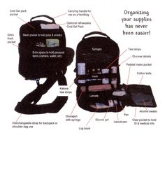 StaiWell Diabetes Bag, http://www.staiwell.com/products.html