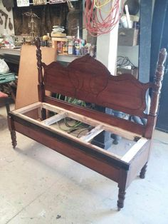 Bed Bench We Have Several Lovely Old Beds That Are Just Waiting To Be Turned Into