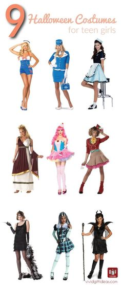 27 DIY Halloween Costume Ideas for Teen Girls DIY Halloween - halloween ideas girls