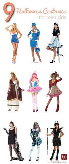 27 DIY Halloween Costume Ideas for Teen Girls DIY Halloween - halloween teen costume ideas