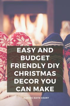 Check out these 3 easy Christmas decor you can make today with Poinsettias. Including a step by step on how to make these Poinsettia flowers. #diychristmas #poinsettias #paperflowers Diy Christmas Decorations Easy, Christmas Tree Ornaments, Simple Christmas, Christmas Diy, Cute Diy Projects, Green Craft, Home Decor Hacks, Spring Home Decor, Do It Yourself Projects