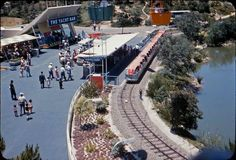 The Viewliner survived at Disneyland only 15 months from June 26, 1957 until September 15, 1958. The Monorail and Submarine Voyage Lagoon would occupy this space in June of 1959.