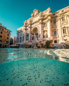 Trevi-Fountain Rome Italy Tag a buddy you would take here! Share this on your story if you love this location. Italy Map, Italy Travel, Cool Places To Visit, Places To Travel, Malaga Airport, Beau Site, Trevi Fountain, Destinations, Travel Abroad