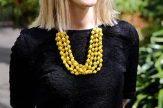 Get ready! Get ready! Get ready! Cyber Monday is around the corner and this mustard Ndagire Paper Bead Necklace will be there! Check out the NarrativeCo boutique on Etsy to shop for a cause this holiday season. Link in bio. #cybermonday #shopforacause #purchasewithpurpose #giftsthatgiveback #uganda #africa #paperbeads #handmadenecklace