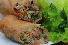 Vietnamese Egg Rolls-Cha Gio-Pork and Crab Roll