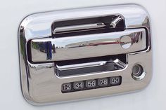 Putco 402019 Putco Chrome Door Handle Covers Chrome Door Handles Door Handles Chrome