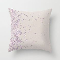 Glitter Is My Favorite Color (photo of glitter) Throw Pillow by Galaxy Eyes   Society6