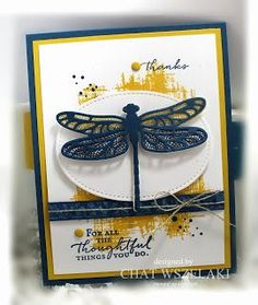 Stampin' Up Dragonfly Dreams, Me My Stamps and I