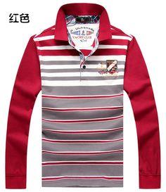 Paul Autumn Winter New Men'S Fashion Brands Long Sleeve T Shirt, Leisure Letters Printed Shark Men'S Sports Camisetas T-Shirt