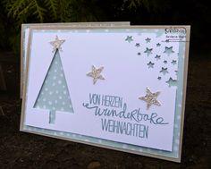 Barbaras Kreativ-Studio - Stampin'Up! Demonstratorin in Wien : Weihnachtskartenproduktion