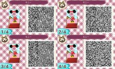 Minnie face cut-out standee - animal crossings new leaf Animal Crossing Qr, Acnl Standee Qr Codes, Deco Gamer, Mickey Mouse Outfit, Minnie Mouse, Face Cut Out, Motif Acnl, Happy Home Designer, Photoshop