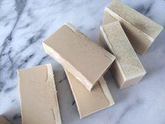 Easy Melt and Pour Vanilla Oatmeal Soap Recipe