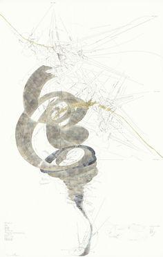 Jorinde Voigt Abstract Drawings, Abstract Art, Jorinde Voigt, Woman Art, 3 Arts, Illustrations, Drawing Board, Sculpture, Kandinsky