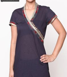 Cross over look top/dress..Kurta
