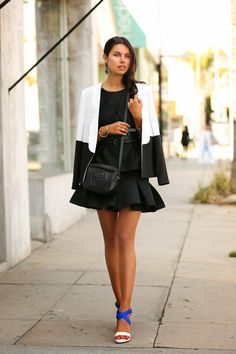 VivaLuxury - Fashion Blog by Annabelle Fleur: COBALT COLORBLOCK
