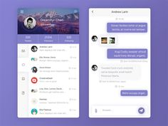 Daily UI 001 # chat app page