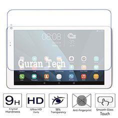 awesome Guran® Protector de Pantalla Vidrio Cristal Templado Para Huawei MediaPad T1 10.0 24,4 cm (9,6 pulgada) Tablet-PC Film