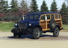 Power Wagon Woodie | of-1: 1950 Dodge Power Wagon Campbell Woodie