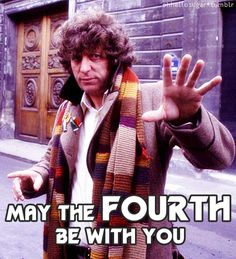 Doctor Who loves Star Wars, too. May the Fourth be with you. (Even though I still love the Tenth more.)