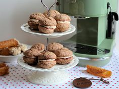 The Coffee Challenge with DeLonghi: Italian Coffee Mocha Kisses and Brandy Snaps