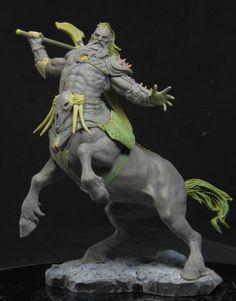 Centaur, Joaquin Palacios on ArtStation at https://www.artstation.com/artwork/QNdWr