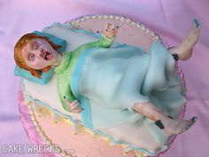 A baby shower is supposed to be a joyous celebration of life, filled with gifts, happiness, and of course, cake. So what happens when baby shower cakes go HORRIBLY wrong? We're bringing you 17 of the most disturbing baby shower cakes the internet has to offer.