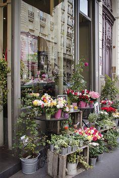 Flower Shop, Paris