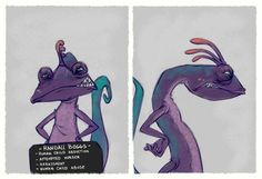 Randall [as a criminal] (As Criminals by HaaappyAccidents @Etsy) #MonstersInc
