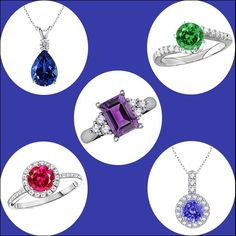 Seven Must Have Gemstones Sapphire Jewelry, Natural Sapphire, Coupon Codes, Must Haves, Bling, Pendant Necklace, Gemstones, Diamond, Stuff To Buy