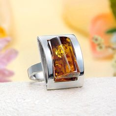 Love unique Baltic Amber pieces.
