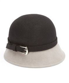 Look what I found on #zulily! Black & Gray Wool Cloche by Jeanne Simmons Accessories #zulilyfinds