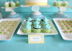blue & yellow or green & yellow for gender reveal colors