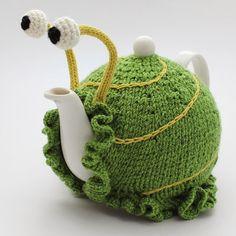 Wool snail by Anke Klempner