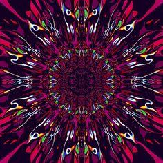 photo illusion optique LSD Psychédélique Encadrée Imprimer-Hypnotique Spirale Oeil