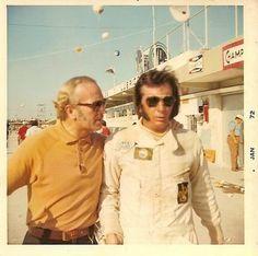 Colin Chapman and Emerson Fittipaldi