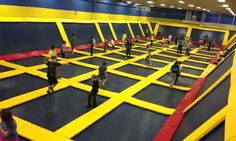 Trampoline gym! Several locations in Florida (Oralndo, tampa)