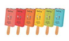 Katia socks package design by Melis Gokcen