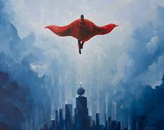 Smallville  18x24 Art Print by AndrewHeath on Etsy