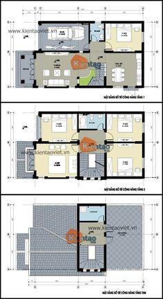 Mặt bằng kỹ thuật tham khảo dành cho mẫu nhà biệt thự đẹp 2 tầng 103m2, Thiết kế nhà đẹp hiện đại