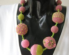Crochet necklace  Monami