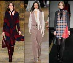 (Tory Burch, Chloe & House of Holland) House Of Holland, Fall Winter 2015, Neck Scarves, Chloe, Tory Burch, Duster Coat, Cool Stuff, Jackets, Accessories