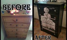 Refurbished Marilyn Monroe dresser